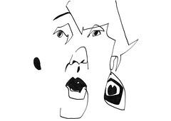 JKPP: María #Drawing, #Jkpp, #JuliaKaySPortraitParty, #Portrait