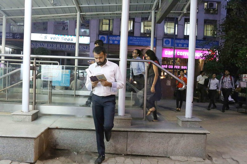 City Life – Reading Vikram Seth, Delhi Metro & Barakhamba Metro Station
