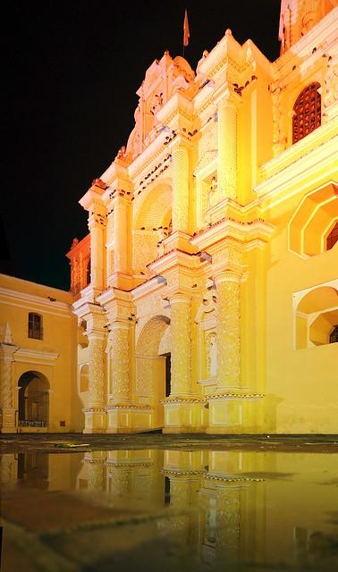 Fachada de La Merced, Panorámicas nocturnas
