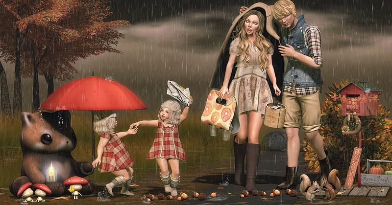 Amelie et les petites: Rain or Shine