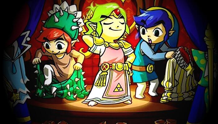 Nintendo revela novo trailer de The Legend of Zelda: Tri Force Heroes