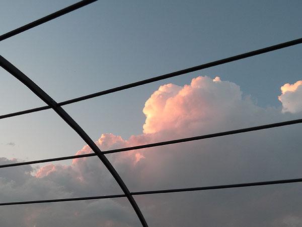 ciel de nuit à Turin
