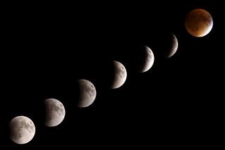 Lunar Eclipse 9.27.2015 Composite