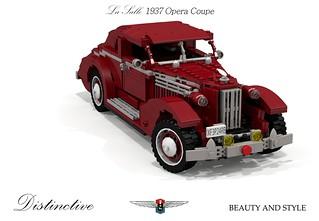 LaSalle 1937 Opera Coupe