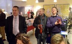 SMM:s ordf. tackar Jan och Hans för lång och trogen tjänst i SYBB-junior