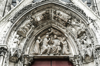 Image of Cathedral of Notre Dame de Paris near Paris. notredame paris cathedral xss ãledefrance france cfp16