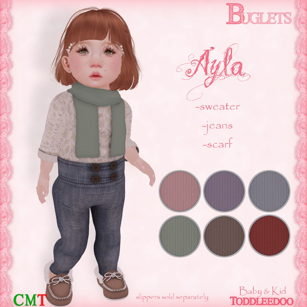 TD Ayla Outfit AD - SecondLifeHub.com
