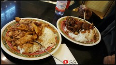 Chinese Food (Chicken & Beef With Rice) in Zur…