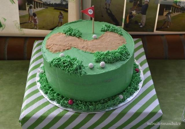 Golf Cake by Tu buffet mas dulce