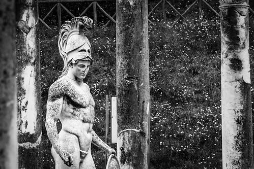 "Villa Adriana Roma from the book ""Le memorie di Adriano | Mémoires d'Hadrien (1951)"" by Marguerite Yourcenar"