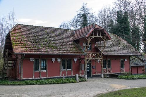 Nieuwenhoven - voormalige boswachterswoning