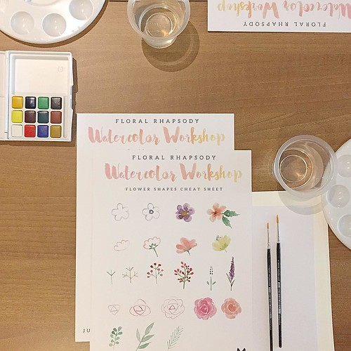 Thank you all who had joined @babalisme watercolor workshop with @refinery_id !!! You're the best ever!! Huge thanks for @ourcactus @brown_id @refinery_id  @madeiracookies @glosisresto @chiayo.id #workshopindonesia #class #watercolor #paint #diy #handmade