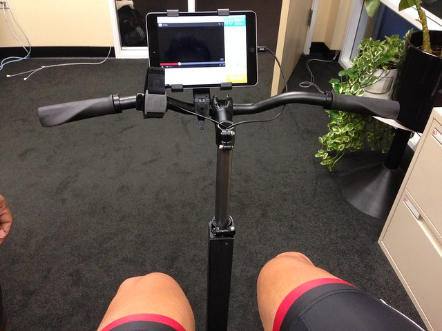 Taking the VO2Max test by Revvo