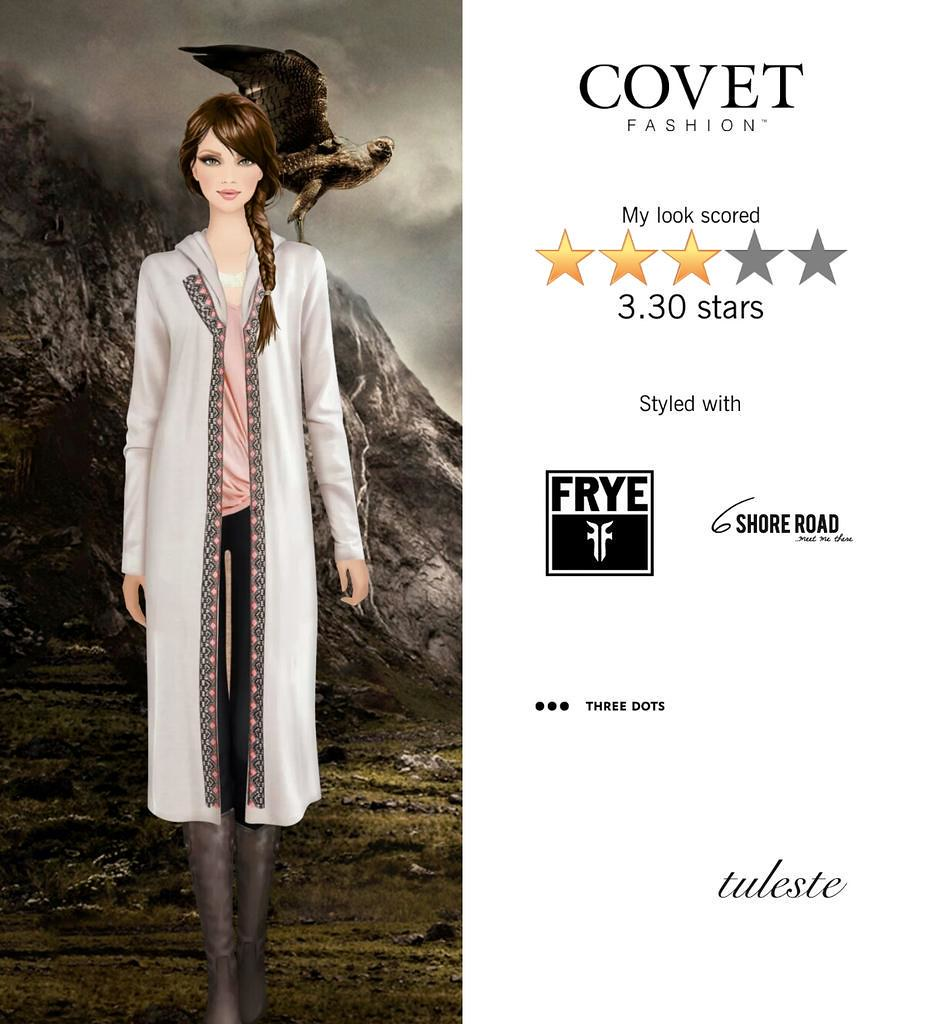 My Look Scored Stars In The Falconer Challenge In Covet Fashion Http