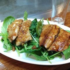 fish, meat, food, dish, cuisine, teriyaki,