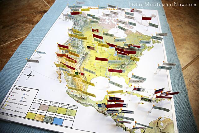 montessori inspired map activities using pin it maps