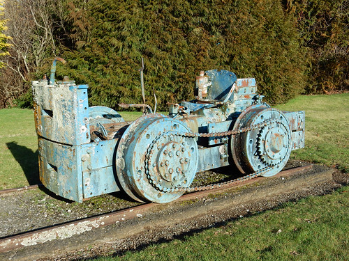 Union Foundry Rail Tractor 39