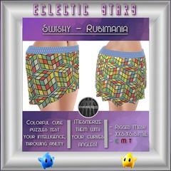 Eclectic Stars -Swishy - Rubimania