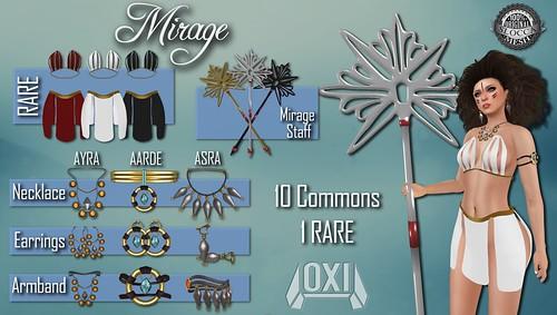 Mirage Gacha Set