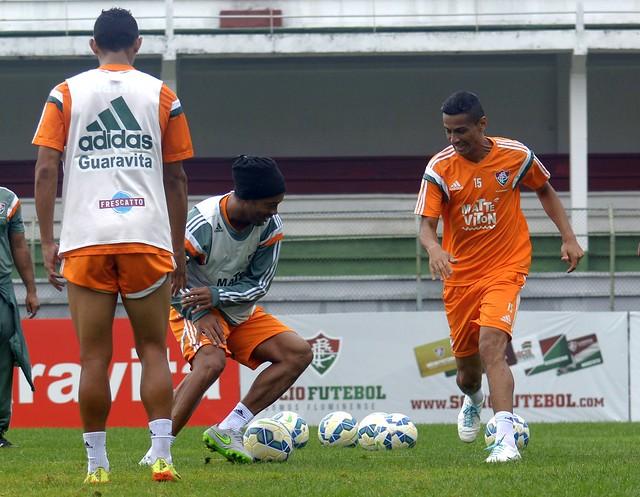 Treino do Fluminense 11.09.2015