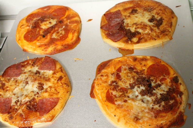 Mini Pizzas, kids
