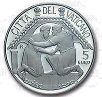 Vatican City 5 Euro reverse