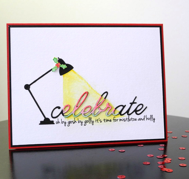 Celebrate by Jennifer Ingle #CASualFridaysStamps #SimonSaysStamp #MemoryBox #Cards #JustJingle