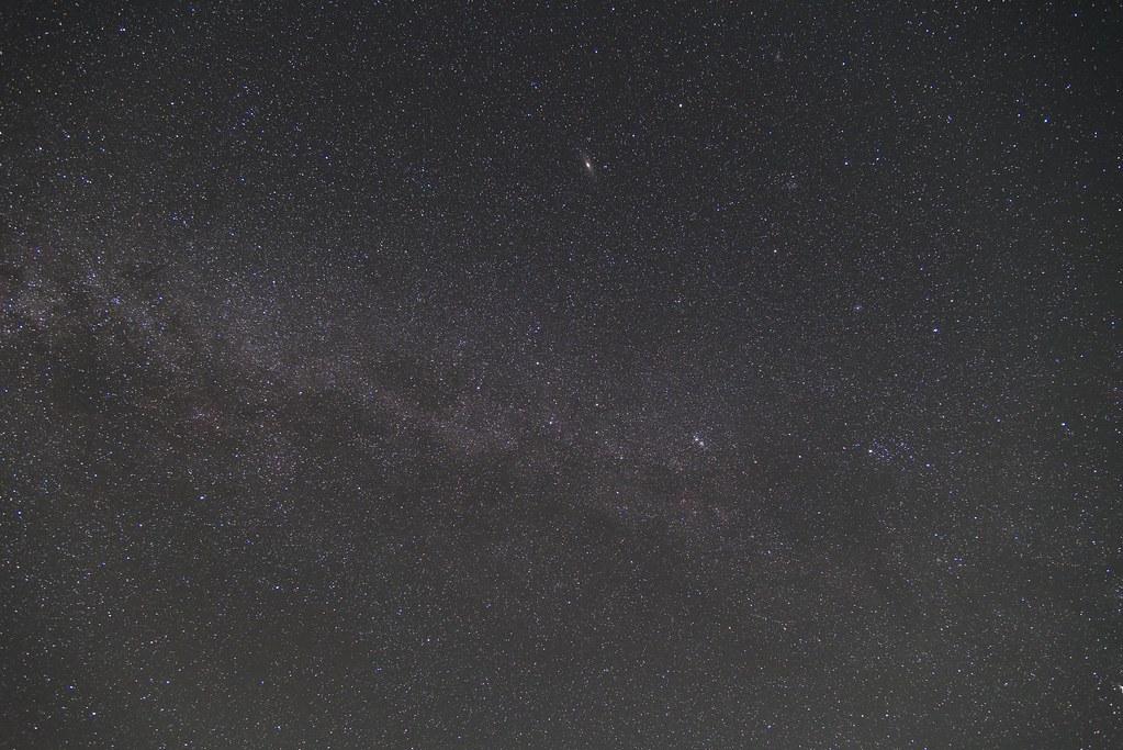 2015.10.09 アンドロメダ付近の天の川