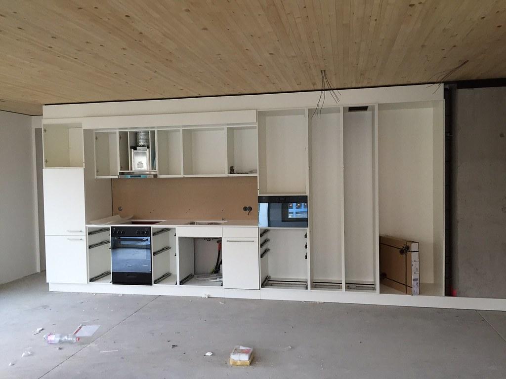 Kücheneinbau  Residenz Zielacher - Start