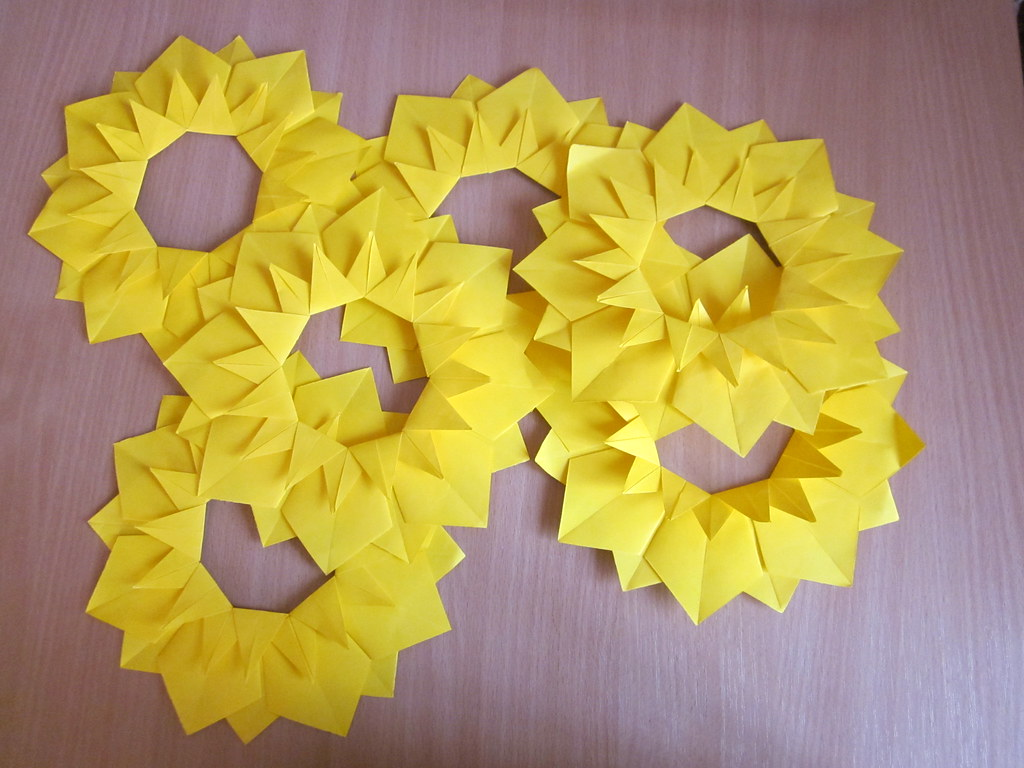 Gell 82s favorite flickr photos picssr sunflower origami jeuxipadfo Gallery