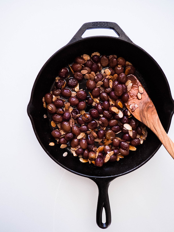 Sweet Balsamic Roasted Grapes,