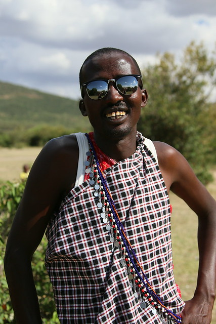 Masai With NGRY sunglasses.