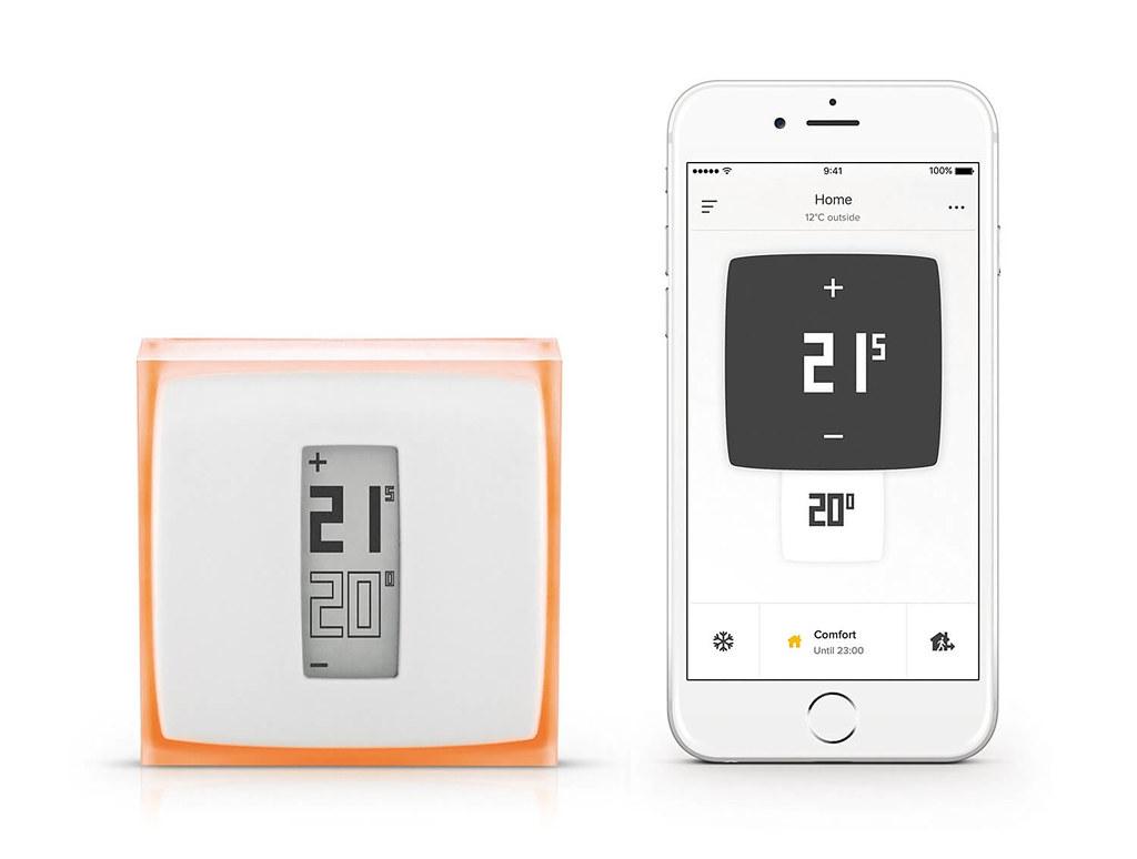 aplicacion movil del termostato Netatmo