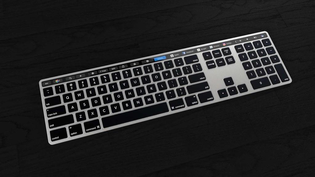 Magic Keyboard Touch Bar-2