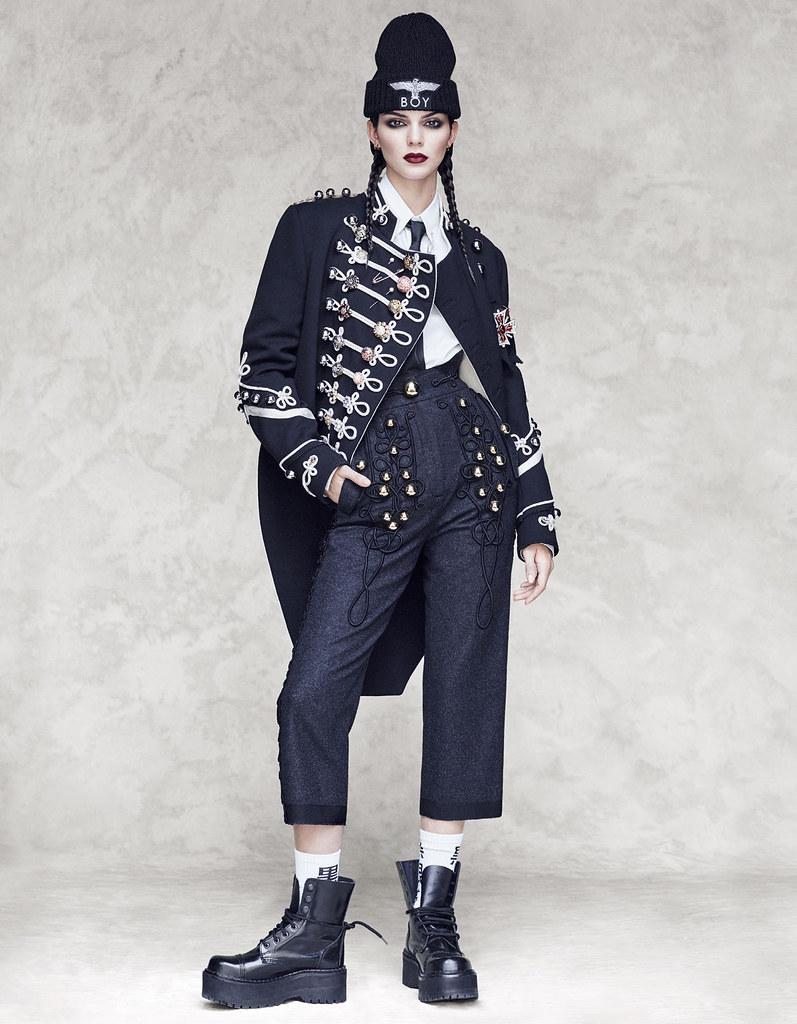 Кендалл Дженнер — Фотосессия для «Vogue» JP 2016 – 17