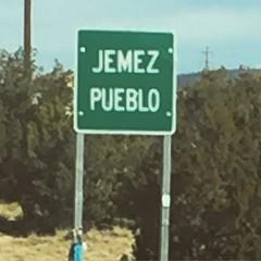 Off to feast day dances at Jemez Pueblo #walatowa #jemezpueblo