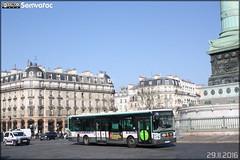 Irisbus Citélis Line - RATP (Régie Autonome des Transports Parisiens) / STIF (Syndicat des Transports d'Île-de-France) n°3178