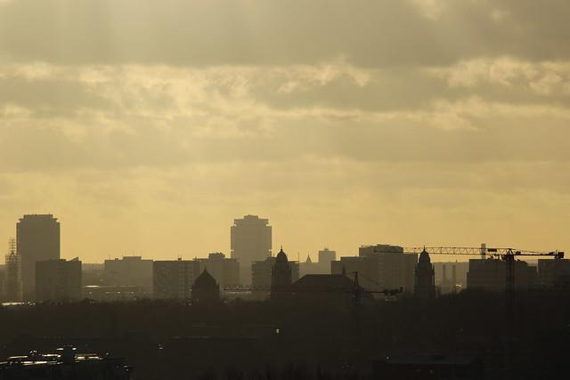 Silhouette von Berlin