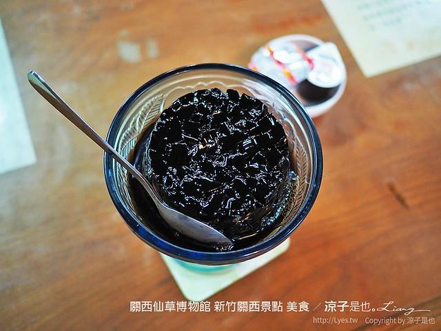 關西仙草博物館 新竹關西景點 美食 25
