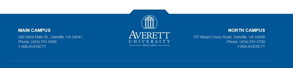 Averett University job details and career information
