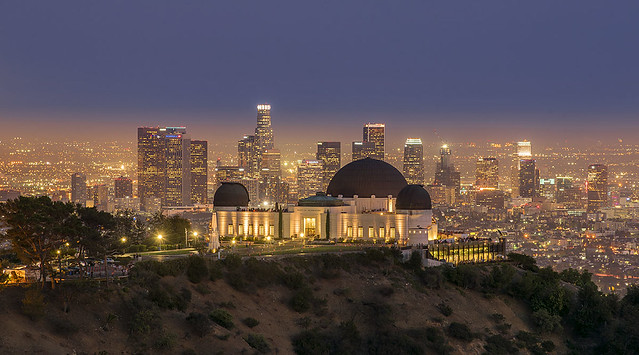 Los Angeles from Griffith Observatory, California.