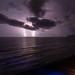 Jaco Beach Lightning Storm by hp181san