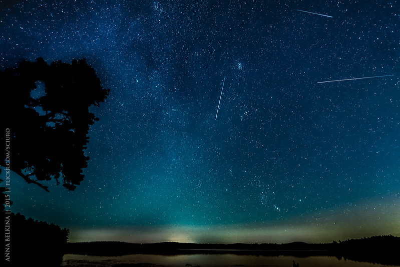 Perseids at Lake Massabesic
