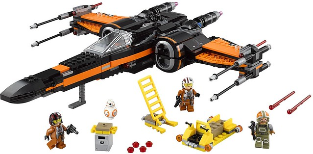 LEGO Star Wars 75102 - Poes X-Wing Fighter