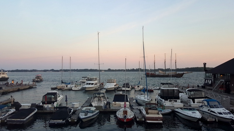 Toronto Harbourfront sunset