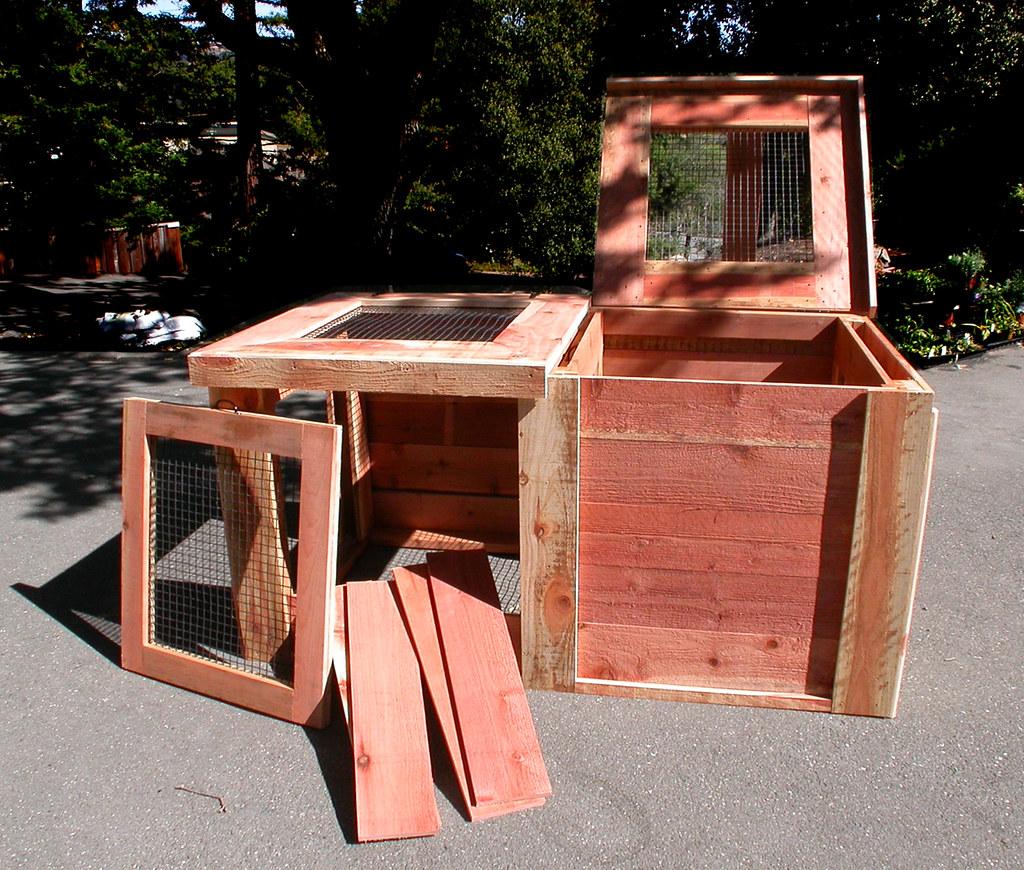 3ft Redwood Flower Planter Box For Windows By Redwoodgardens: Garden Craftsman. Compost Bins