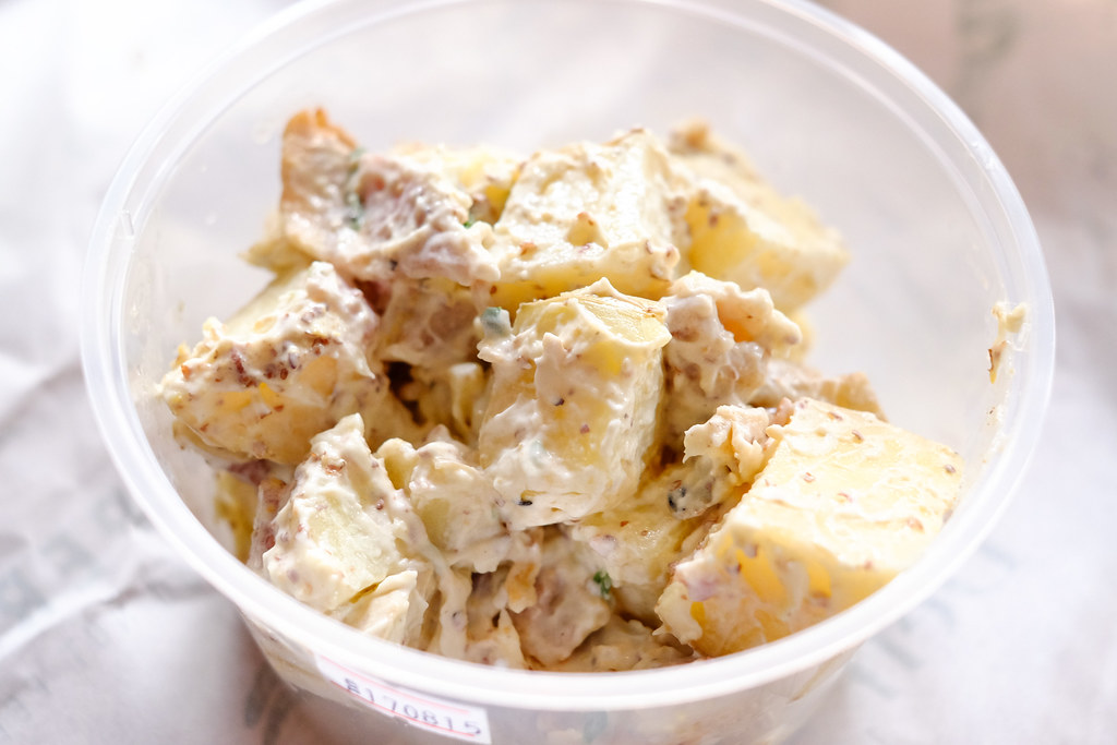 Park Bench Deli: potato salad