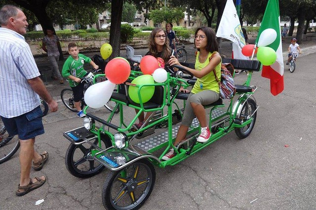 Rutigliano- La sesta edizione di Ri-pedalando pedalando (1)
