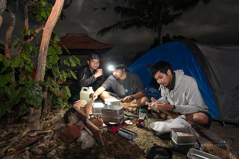 Camping di Batu Bengkung