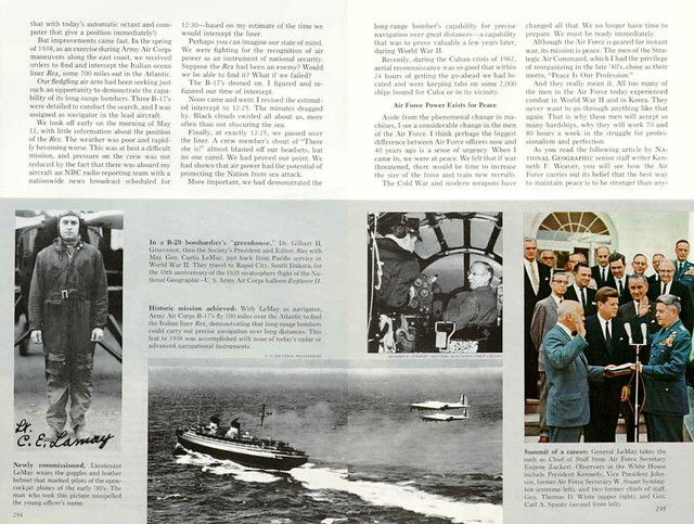 NATIONAL GEOGRAPHIC September 1965 (3) - U.S. Air Force: Power for Peace